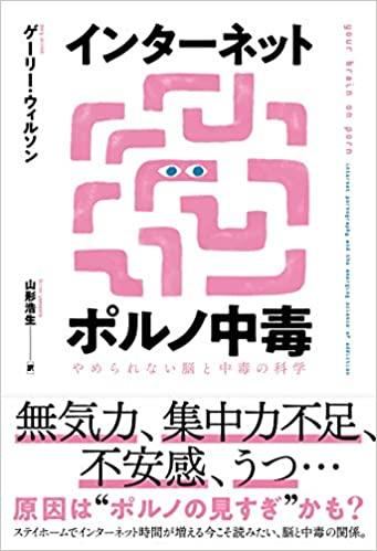 【おすすめ書籍】『インターネットポルノ中毒 やめられない脳と中毒の科学(ゲーリー・ウィルソン[著], 山形浩生[翻訳])』の紹介